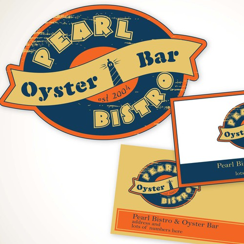 Pearl Bistro & Oyster Bar needs a new logo