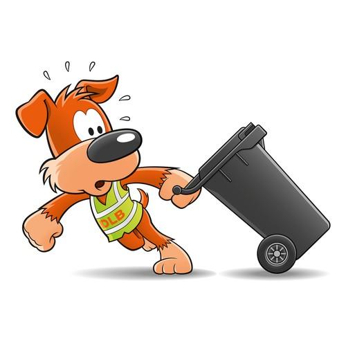 Create a dog in Comic Style - als Maskottchen für Umweltdienstleistungen