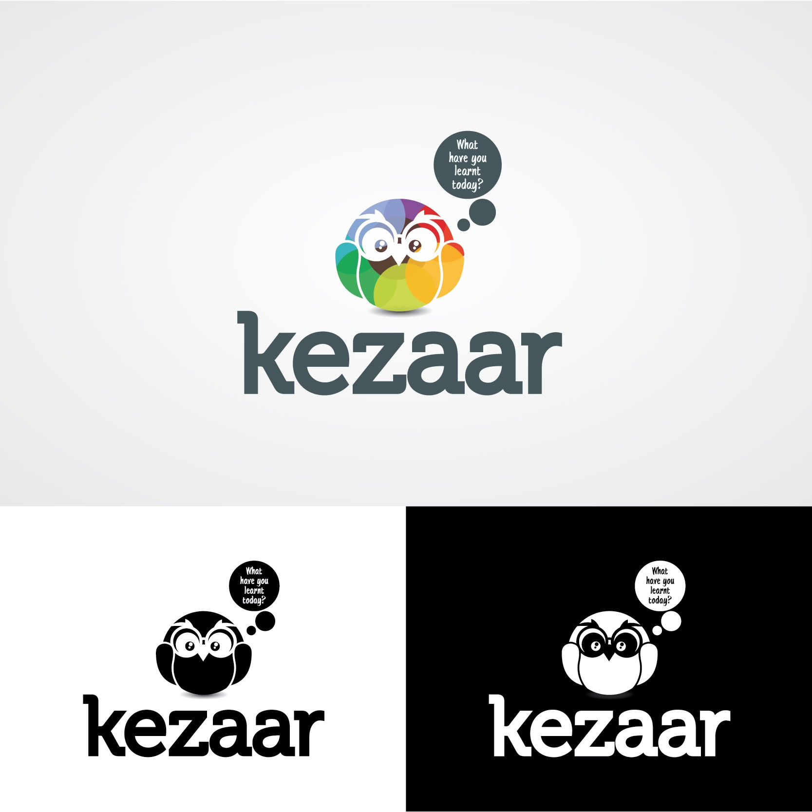 Make this the logo rock-star for Kezzar! the brand new, Super cool social marketplace for skills!