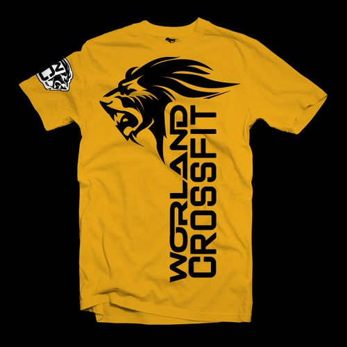 Lion Logo For Worland Crossfit