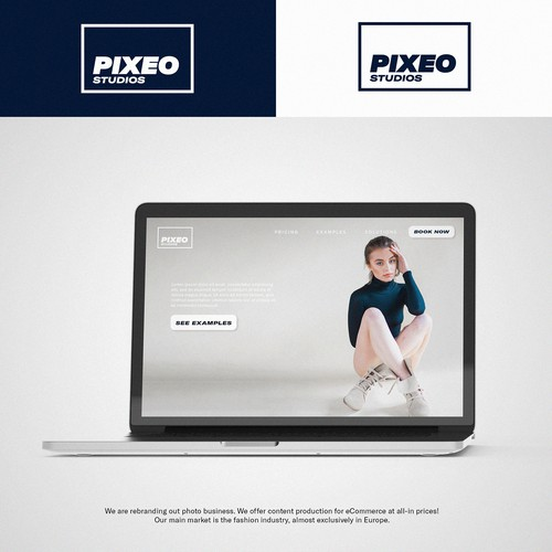 Pixeo - Photography with a Clean style