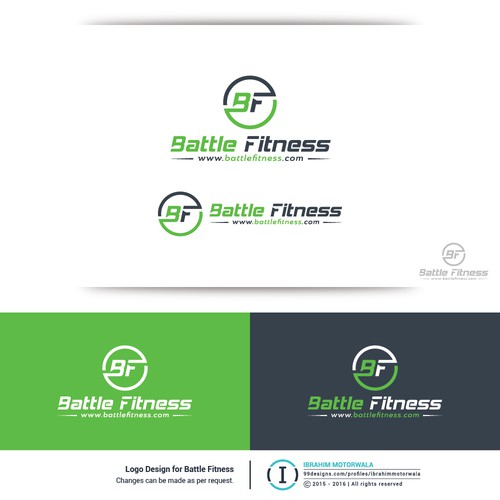 Logo for Battle Fitness