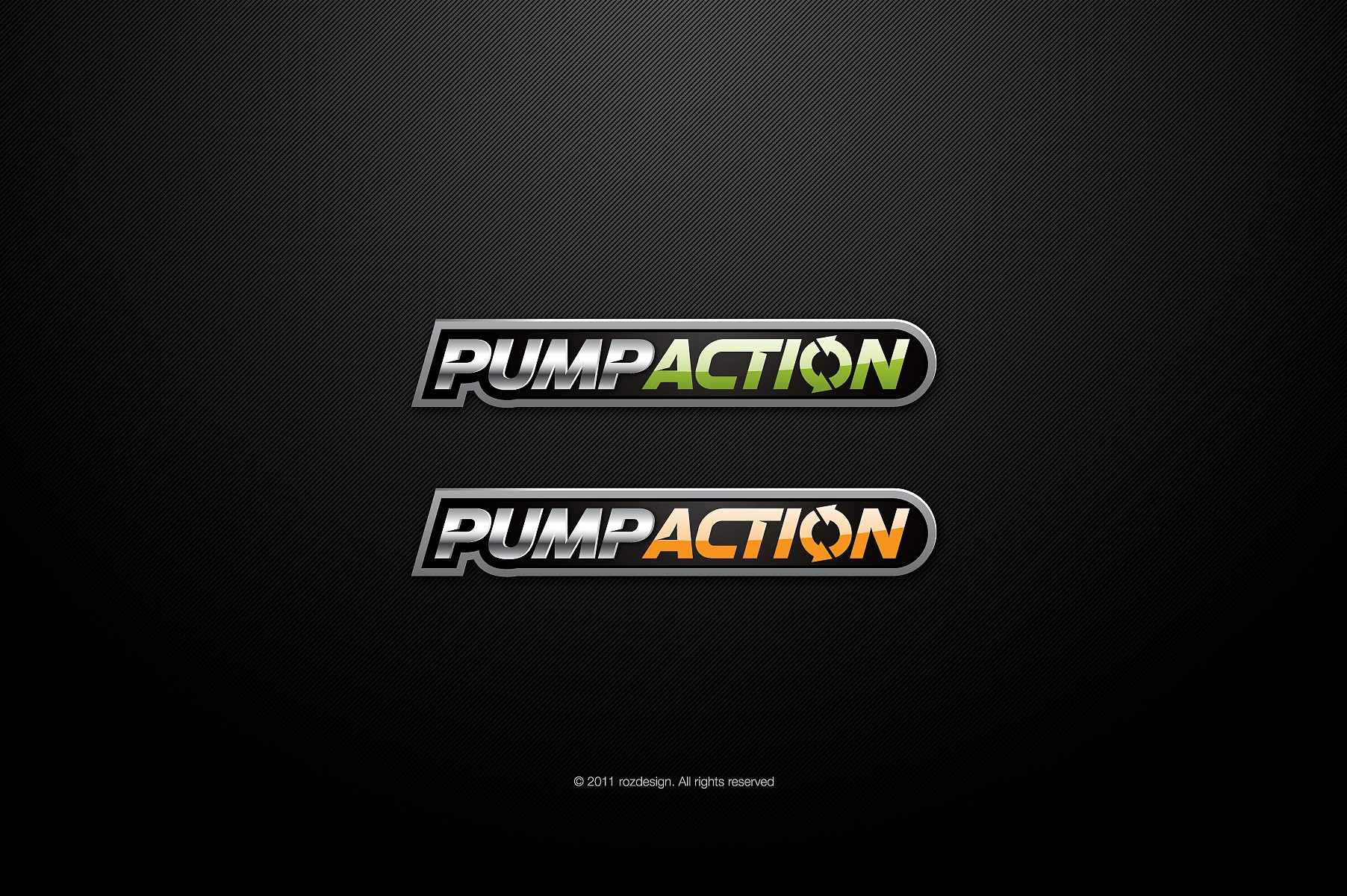 Create the next logo for PUMP ACTION