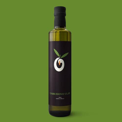 Olive swan logo