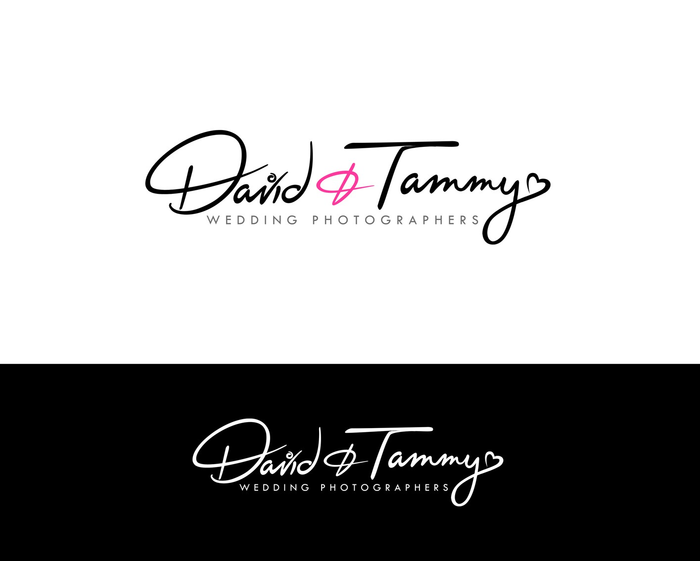 New logo wanted for David and Tammy | Wedding Photographers