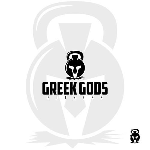 Logo Concept for Greek Gods Fitness