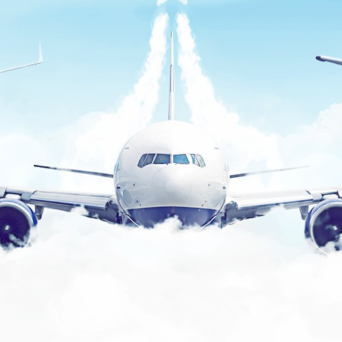 Facebook cover for aviation company