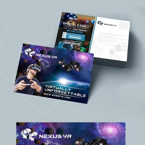 Nexus VR Postcard
