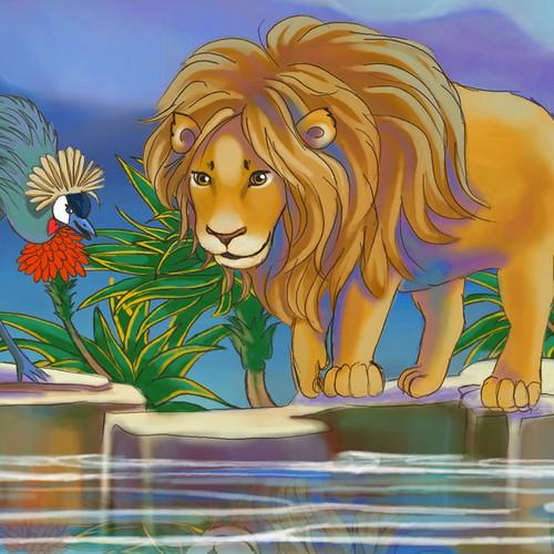 Children's books illustration