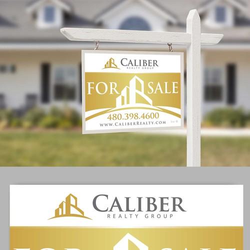 Real Estate signage design concept