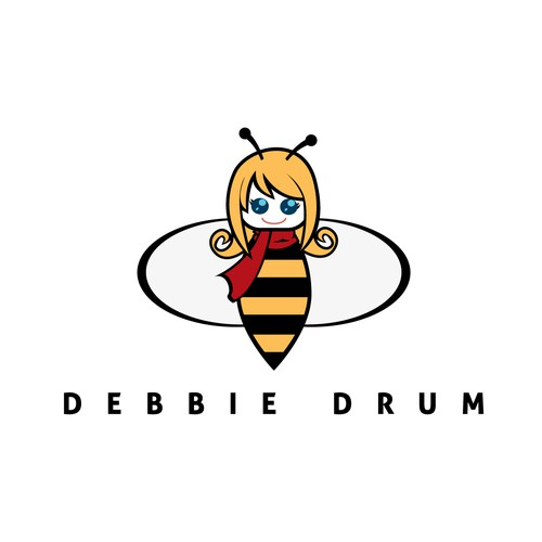 bee cartoon logo