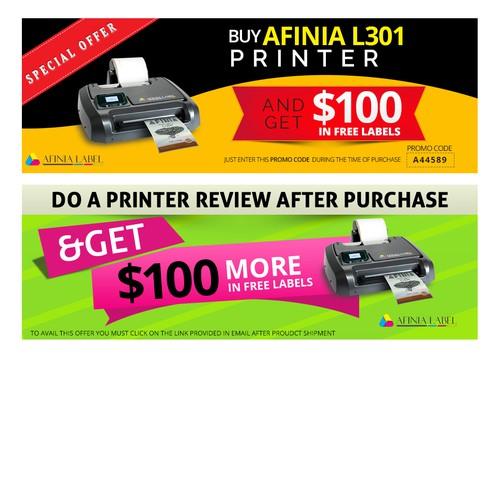 Banner for Printer