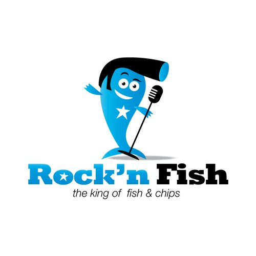 Help rock'n fish with a new logo