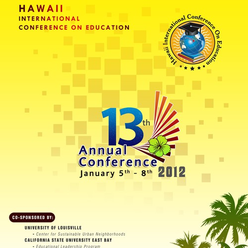 Hawaii Education Conference Program Cover!