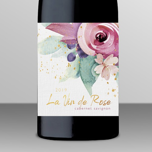 Feminine Wine Label