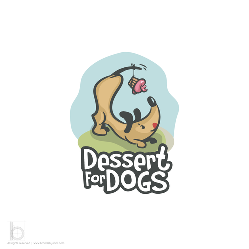 Logo Concept for Dessert for Dogs Fundraising Event