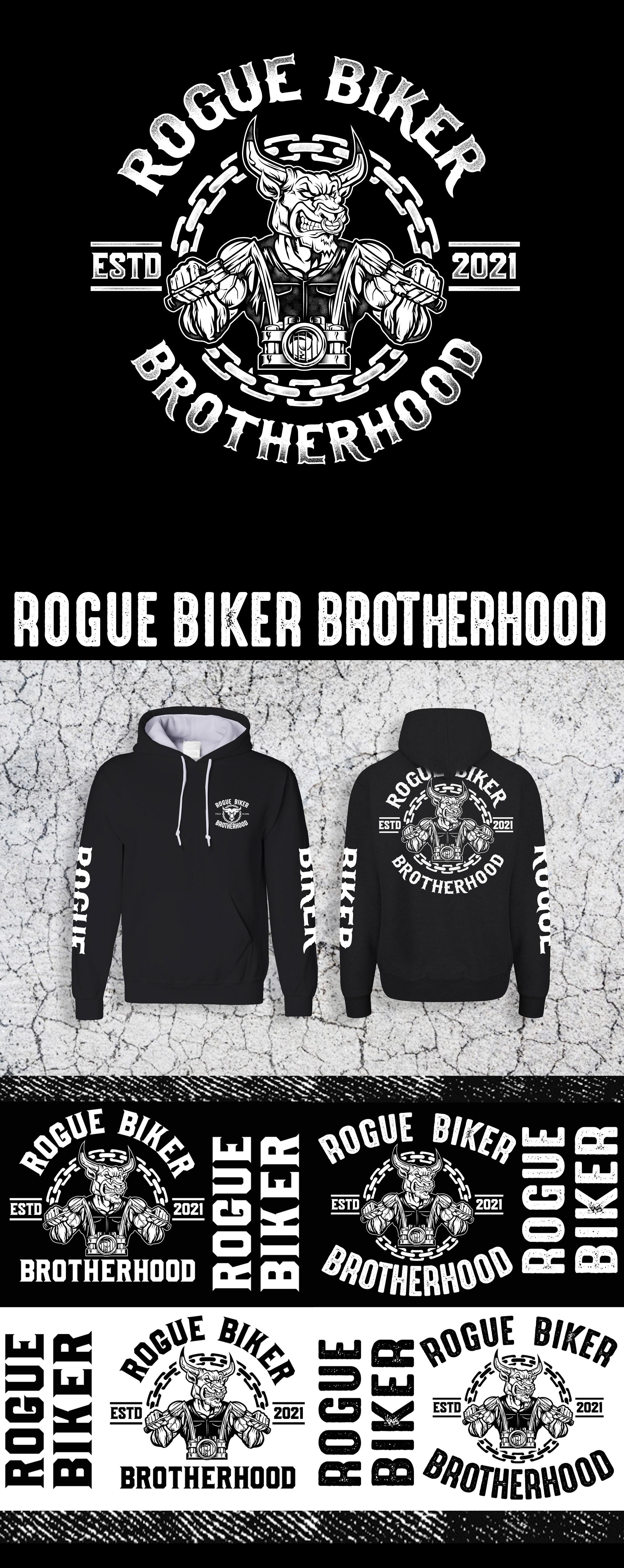 "Company Logo Design for ""Rogue Biker Brotherhood"""