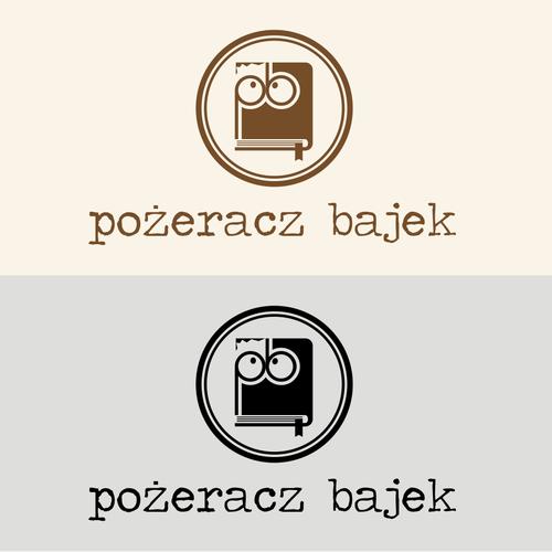 Fun logo for seller of children's books