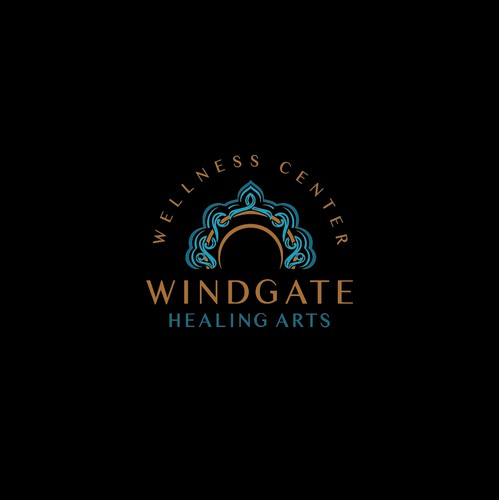 Logo concept for Windgate Healing Arts Wellness Center