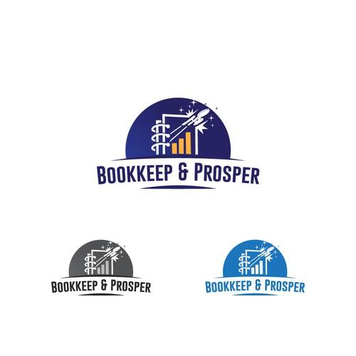 bookkeeping logo with star trek theme