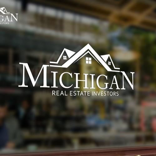 Logo concept for Michigan real estate investors