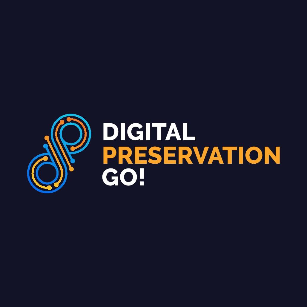 Create for us a killer logo for Digital Preservation Go!
