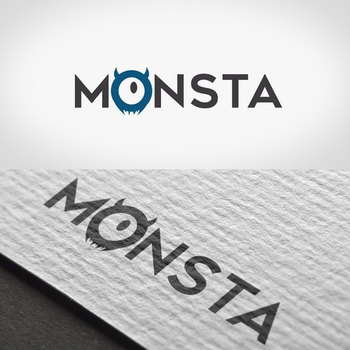 "Logo design ""Monsta"""