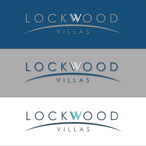 Luxury apartment community seeks your talent for our Lockwood Villas logo!!!