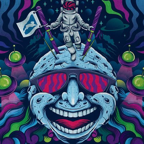 ballhooter festival poster
