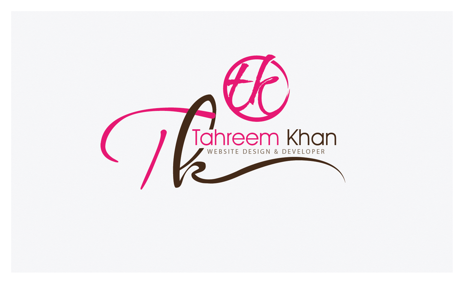 New logo wanted for Tahreem Khan