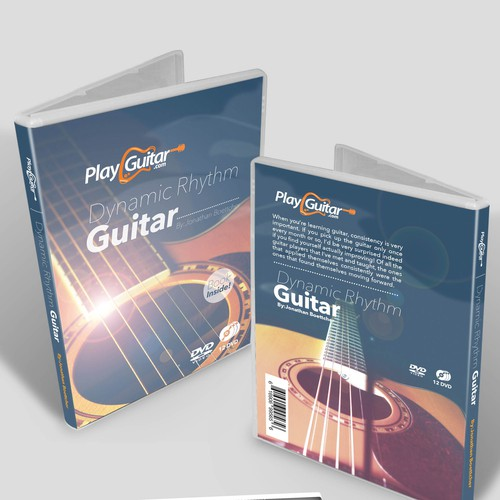 Create a stunning DVD Cover for a Guitar Course