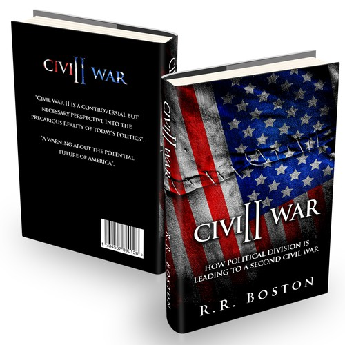 patriotic design for new book