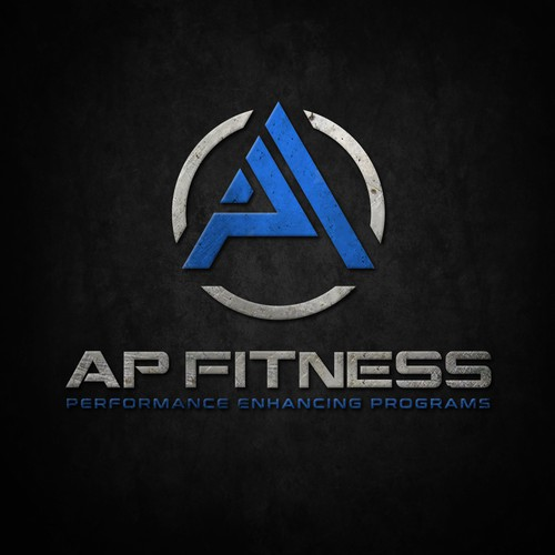 AP FITNESS logo design