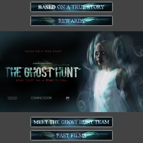 KICKSTARTER Graphics for Horror Movie