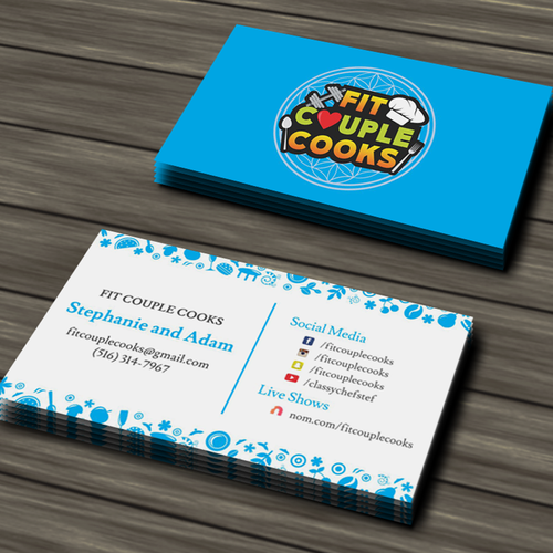 Fun and Catchy Business Card