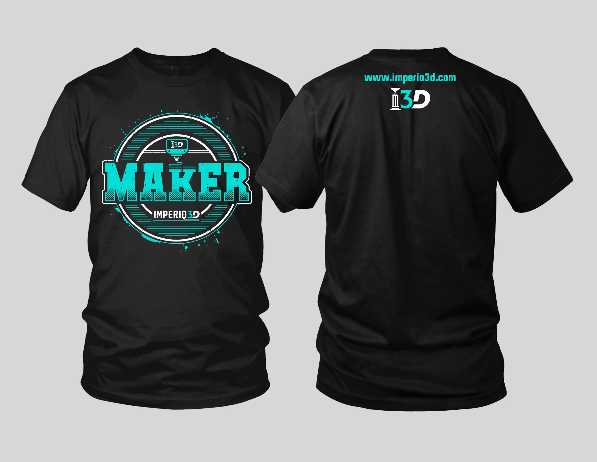 3D printing t-shirt for Makers