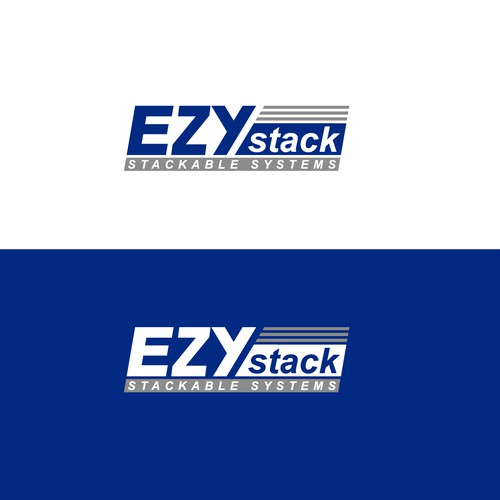 bold logo for stackable systems