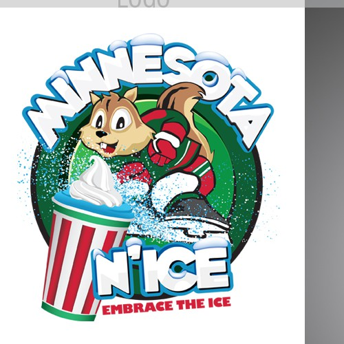 Design a new logo and business card for Minnesota N'Ice