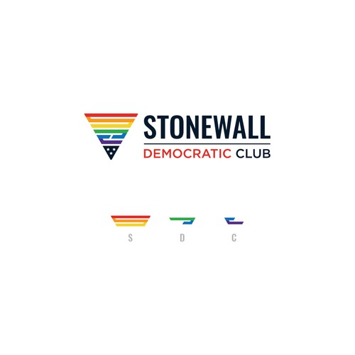 Logo Design for Stonewall Democratic Club