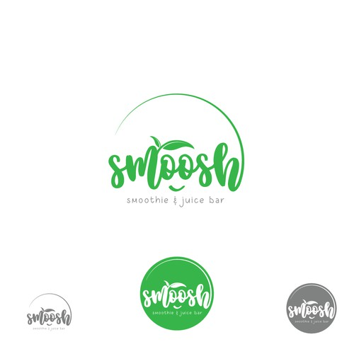 Logo for Smoothie and juice bar