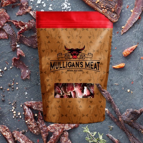 Bold Beef Jerky Logo and Packaging