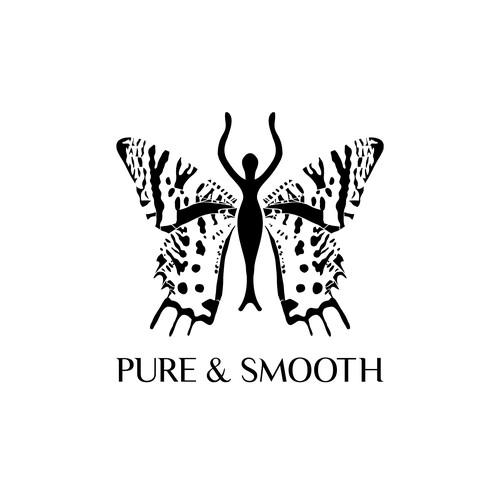 Pure & Smooth logo concept