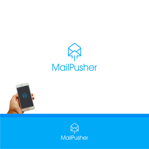 Design logo MailPusher