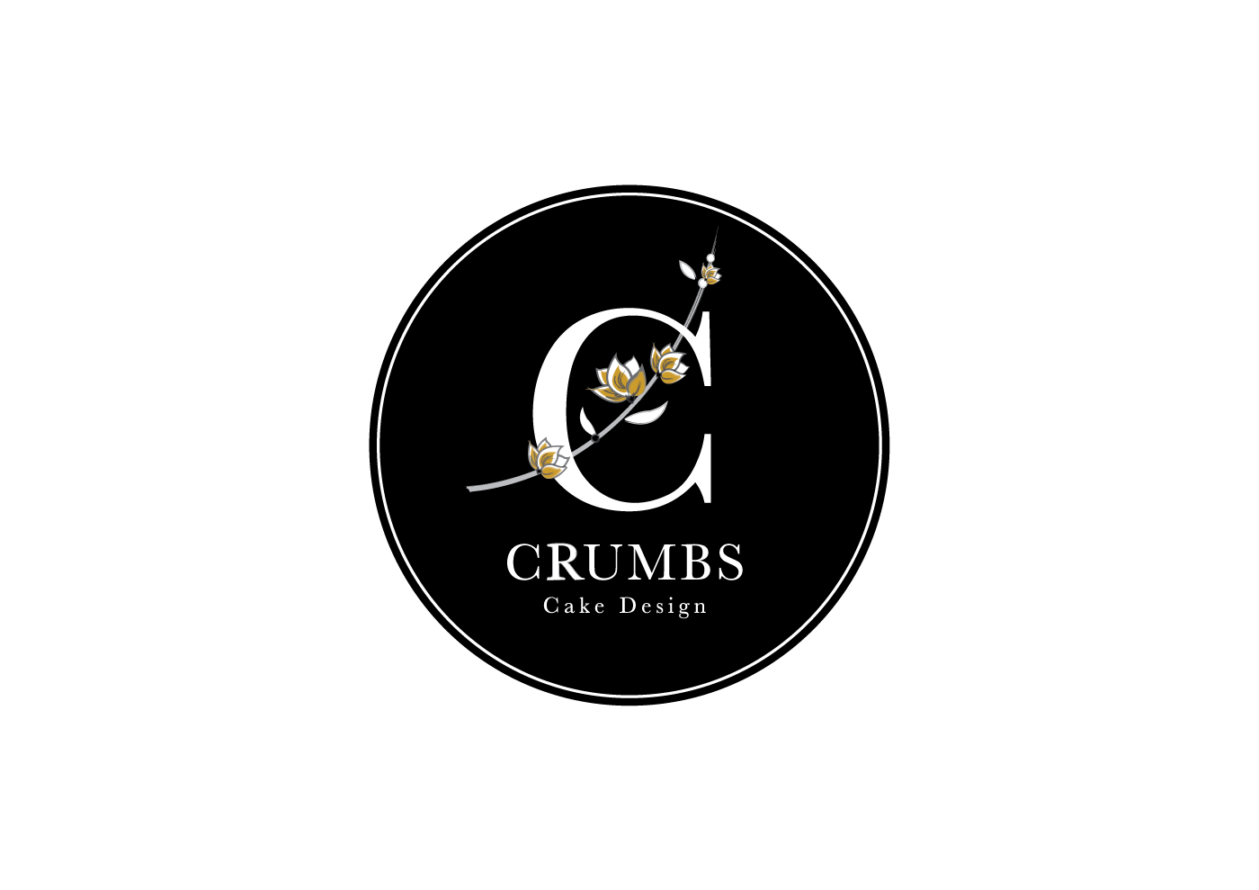 Create the next logo for Crumbs Cake Design