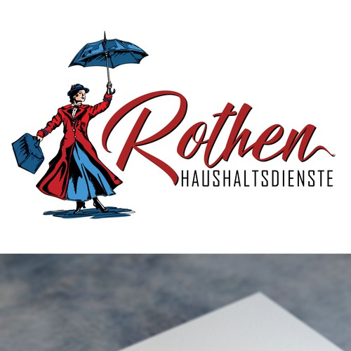 Logo for a hause hold company