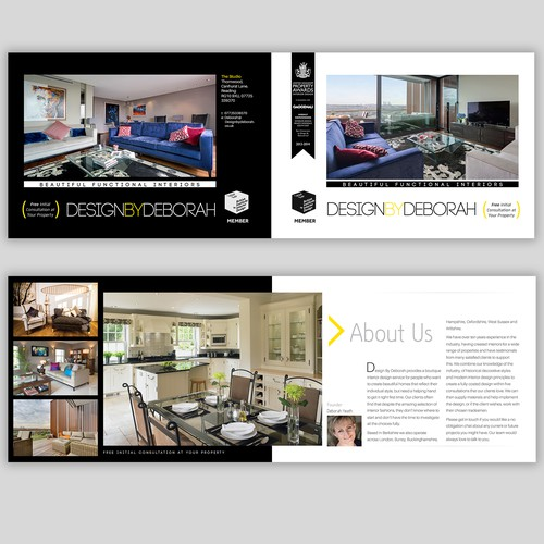 Interior Design Company Needs Brilliant Designer for Brochure