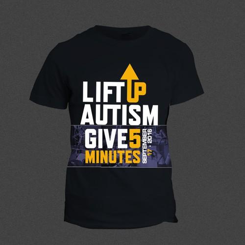 LIFT UP T-shirt design