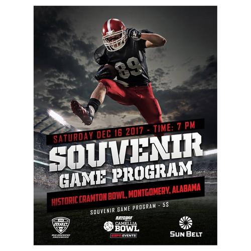 Souvenir Game Program