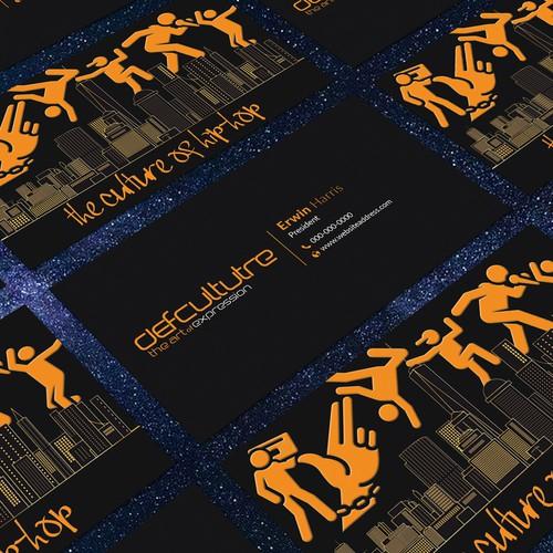 Hip Hop Business Card