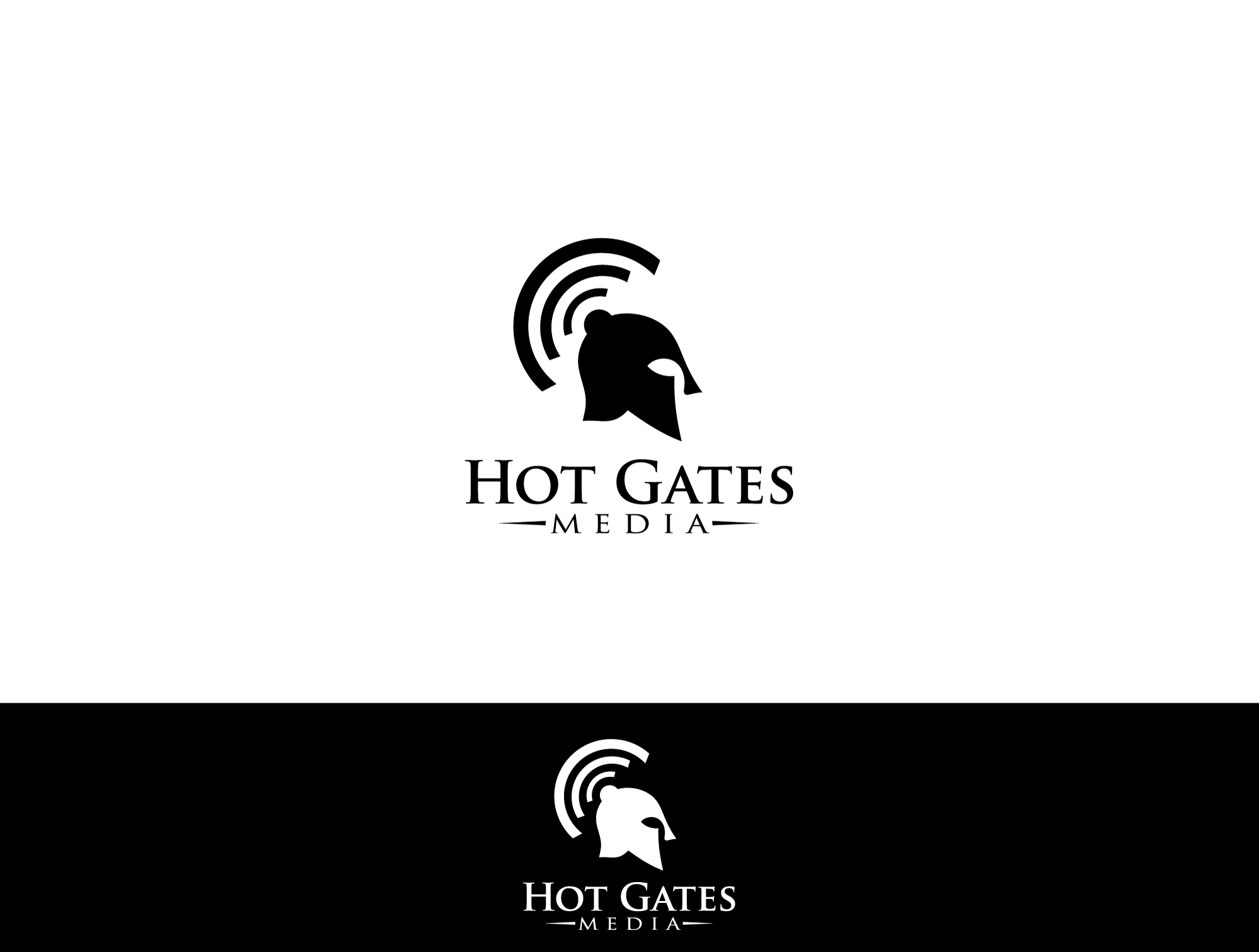 Create the next logo for Hot Gates Media